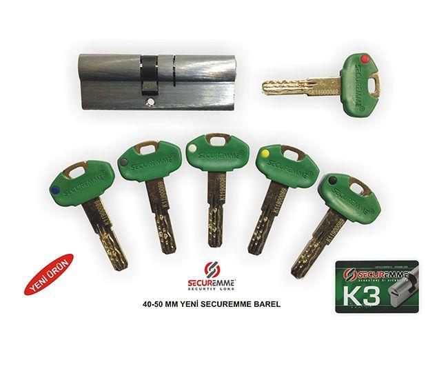 Цилиндр securemme k2 купить